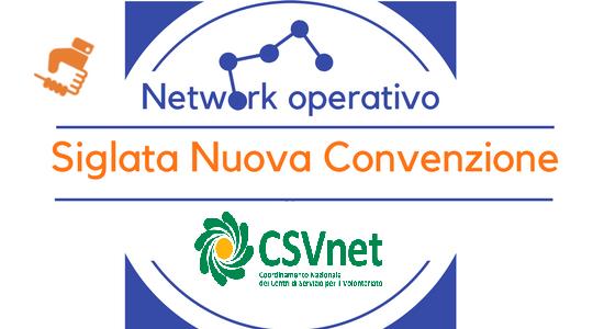 Nuova Convenzione CSVNet
